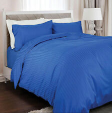 Royal Comfort 1200 TC 100% Egyptian Cotton Royal Blue Queen Bed Quilt Cover Set