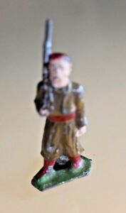 Toy Old Lead Hollow Zouave France Years 30/50