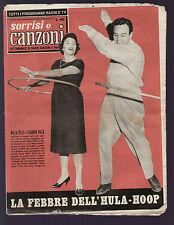 SORRISI 48/1958 NILLA PIZZI CLAUDIO VILLA JULA DE PALMA SABRINA MIRANDA MARTINO