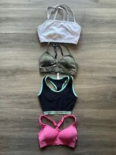 4 PAIR SPORTS BRAS (Reebok, Active, Athletic, Other) WOMENS SIZE XS
