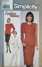 Simplicity Fashion Values pattern 9301 Misses/Petite 2 piece Dress sz 8-18 uncut