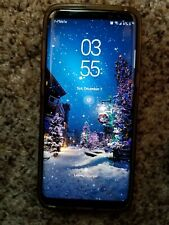 Samsung Galaxy S8 Orchid Gray (UNLOCKED) Smartphone - Clean ESN Works Great