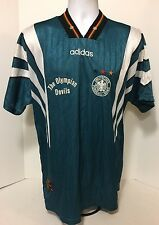 Vintage Adidas Germany Deutschland Football Shirt Jersey Trikot Home 1996 XL