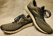 BROOKS Men's Sz. 10  Gray/Navy/Black Glycerin 16 Running Shoes EUC Excellent!