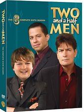 Two And A Half Men Season 6 Conchata Ferrell, Charlie Sheen New UK Region 2 DVD