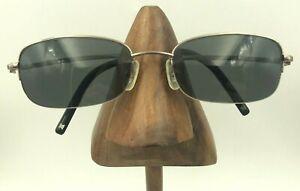 Vintage Celine VC1080U C79 Titanium Silver Rectangle Sunglasses FRAMES ONLY