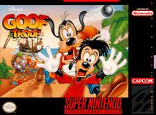 Goof Troop SNES SUPER NINTENDO Video Game