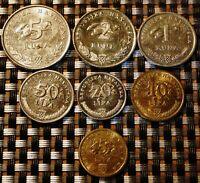 CROATIA - 2009 - Coin Set of 7 coins - Hrvatska kuna lipa