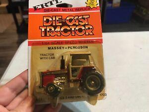 *1/64 Massey Ferguson MF 2775 Row Crop Tractor 1980's Ertl Toy #1622 Die Cast
