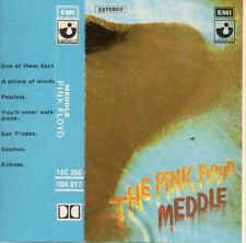"""THE PINK FLOYD """"MEDDLE"""" RARE SPANISH CASSETTE / WATERS - GILMOUR - MASON -WRIGHT"""
