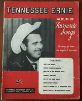 Tennessee Ernie Album Of Favourite Songs, 21 pages Words, Music & Pictures –1950