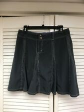 Athleta Dark Gray Whatever Skort Skirt, Active Wear, Tennis Golf Sz 6P, EUC!