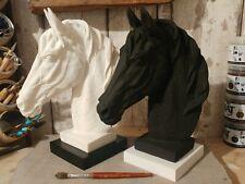 Gorgeous Horse Head Stone Sculpture