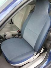 I-pour s'adapter à un citroen xsara picasso, voiture s/couvre, chevron en tissu bleu, 2 fronts