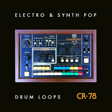 Roland CR-78 Vintage drum machine Loops samples Electro Synth Pop (24-bit WAV)