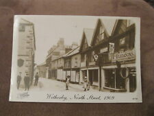 Frith Reproduction Postcard - North Street Wetherby - leeds Yorkshire