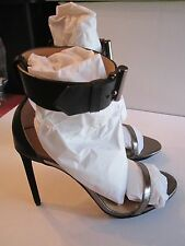 REED KRAKOFF ANKLE WRAP SANDAL STILETTO SHOES - BLACK - VARIOUS SIZES - RET-795.