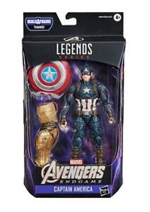 Avengers: Endgame Marvel Legends Captain America (Thanos BAF) IN HAND
