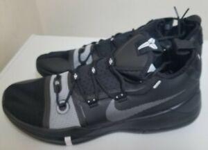 Nike Kobe AD TB Promo Men's 12 Black Silver Basketball  Shoes AT3874-001 New
