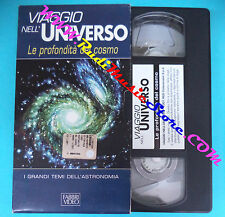 VHS film VIAGGIO NELL'UNIVERSO Le profondita' del cosmo FABBRI VIDEO(F83) no dvd