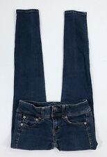 """American Eagle Stretch Womens Skinny Jeans Size 00 Inseam 28"""""""