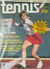 Tennis 1987 Vtg Magazine Chris Evert - Special Wilson Bonus - NOS New Sealed