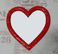 Wall Mirror Heart Mirror Heart Shape Baroque Red Love Gift New 1