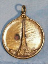 "Vtg Tokyo Tower Souvenir Medal Token Pendant  1 1/4"" Diameter Brass or Bronze?"