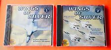 Wings of Silver - 2 CD Rom Software Lot  *** FREE Shipping ***