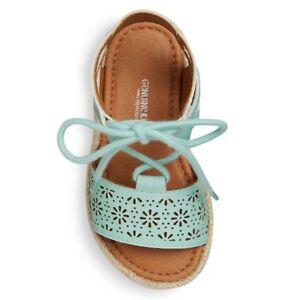 Genuine Kids Osh Kosh Dena Turquoise Toddler/Girls Sandals Sz 6  New