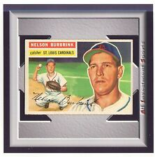 1956 Topps NELSON BURBRINK #27 EXMT **superb baseball card for your set** M99C