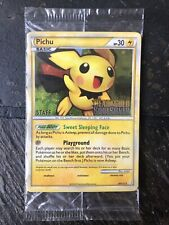 2010 Pokemon HeartGold SoulSilver Prerelease Pichu 28/123 STAFF x5 SEALED Promo