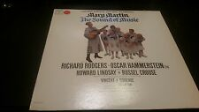 The Sound of Music w/Mary Martin Orig. Broadway Cast Vinyl Record LP
