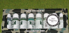 Vallejo Eje Panzer Aces Modelo Color 8 Set Botella 4 70127