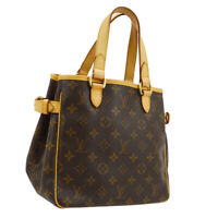 LOUIS VUITTON BATIGNOLLES HAND TOTE BAG MONOGRAM CANVAS M51156 SP0095 AK42790