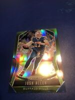Josh Allen Green Prizim Parallel 2019 Refractor 2nd Year!