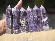 775g(1.71lb)  NATURAL Dream Amethyst quartz crystal point healing    6  P111