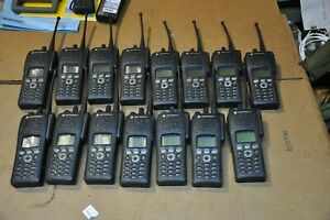 Motorola XTS2500 Part Number H46QDH9PW7BN Lot of 15 with antennas