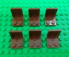 *NEW* Lego Bulk Brown Chairs Seats Houses Cars Space Ships Figures - 6 pieces