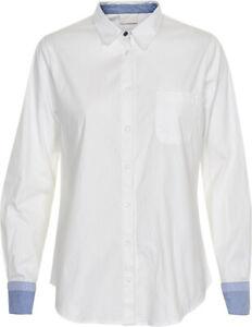 KAFFE - 10500547 Bluse / OPTICAL WHITE  38 - M