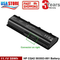 Replacement battery MUO6 MUO9 Spare with 593550-001 636631-001 for HP notebook