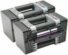 ✅ NEW Powerblock Elite EXP 5-50 lbs Adjustable Dumbbell Set Pair 2020 Model ✅
