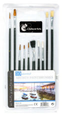 Chiltern Arts set of 10 artists brush set Flat, round, etc