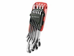 Facom - 467B.JP10PB Ratchet Combination Wrench Set 10 Piece