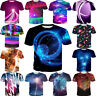 Summer Women Men Short Sleeve Lightning Weather Print 3D T-Shirt Casual Tops Tee