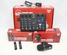 Sabian - Sskit - Sound Kit 4 Piece Drum Mic and Mixer Set