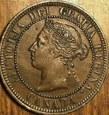 1886 CANADA LARGE CENT PENNY LARGE 1 CENT - Obverse 2 - Fantastic example!