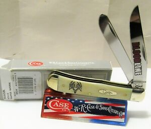 Case XX Trapper Bloodline-4 item #91445BL natural handles pattern #6254 SS