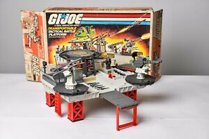 Vintage GI JOE VEHICLE 1985 Tactical Battle Platform - 100% Complete HASBRO