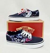 VANS OF THE WALL ATWOOD NAVY BLUE SNEAKERS SKATE SHOES PUMPS UK 3.5 WOMENS